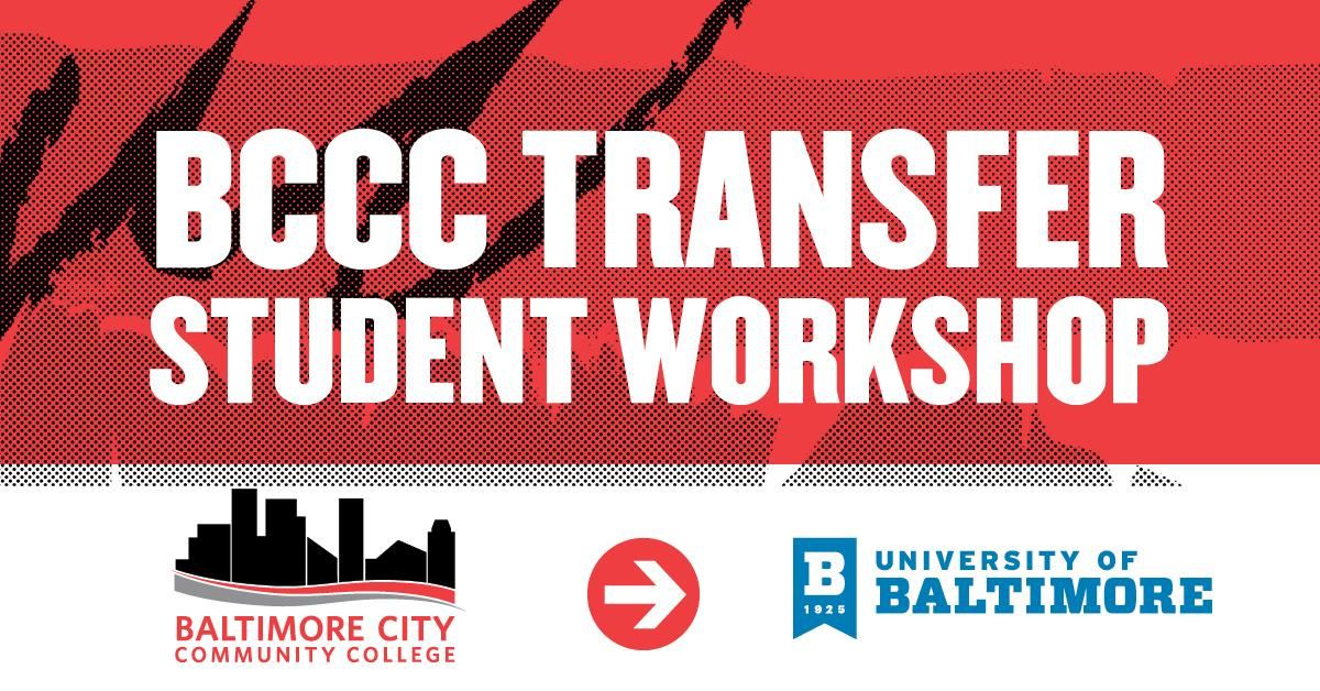 BCCC Transfer - University of Baltimore