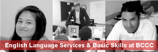English Language Services and Basic Skills at BCCC