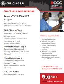 CDL Class B Info Sessions