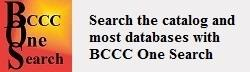 BCCC One Search Button