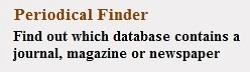 Periodical Finder button